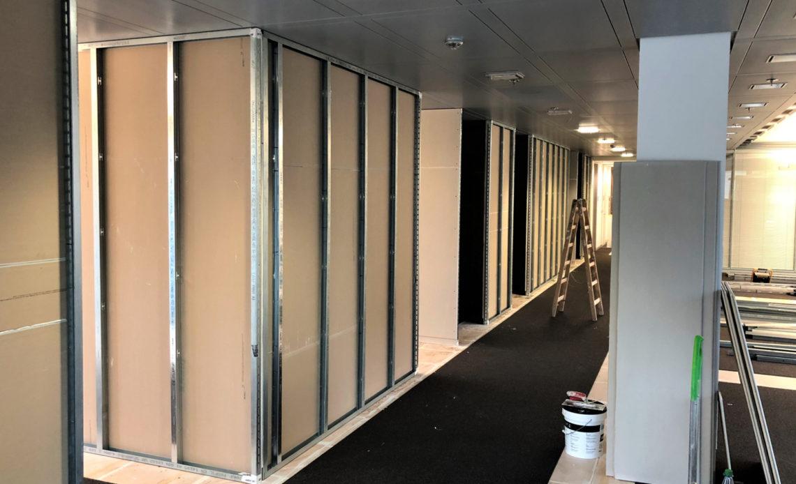 sciany dzialowe 1 Ściany działowe - z czego budować?