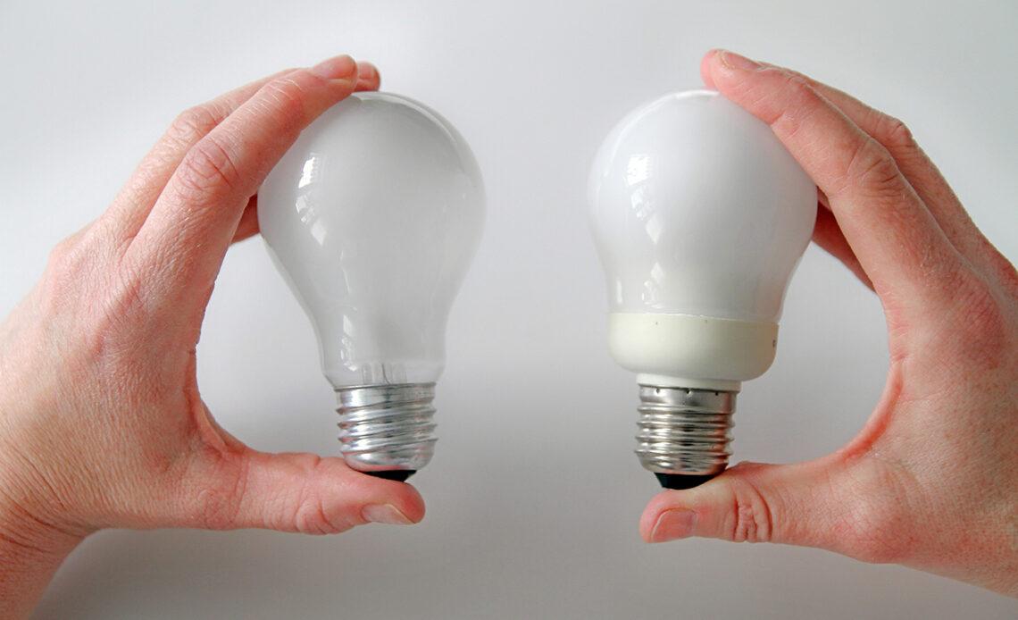 1762448 3028997 glodlampa och laenergilampa webb 10 powodów, dla których warto zmienić żarówki na oświetlenie LED